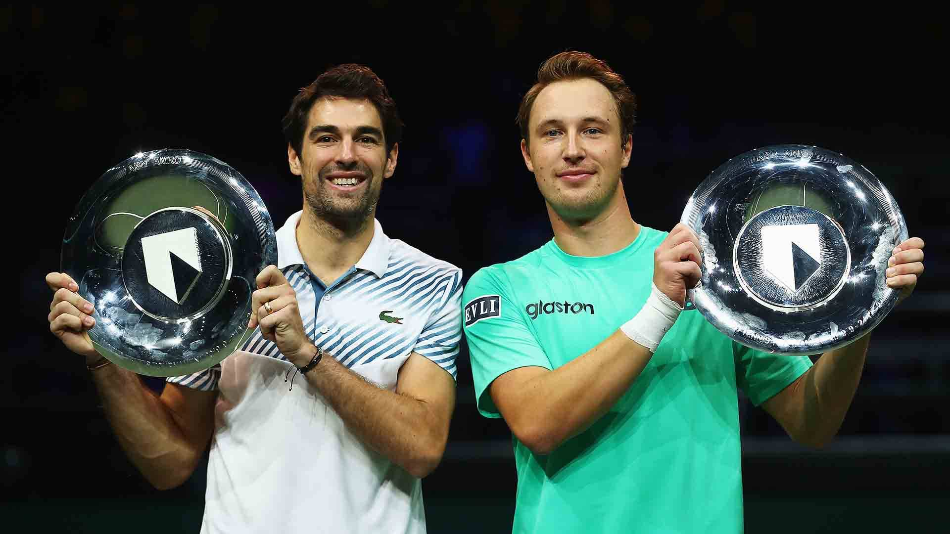Jeremy Chardy and Henri Kontinen earn 500 ATP Doubles Ranking points for winning the ABN AMRO World Tennis Tournament on Sunday.